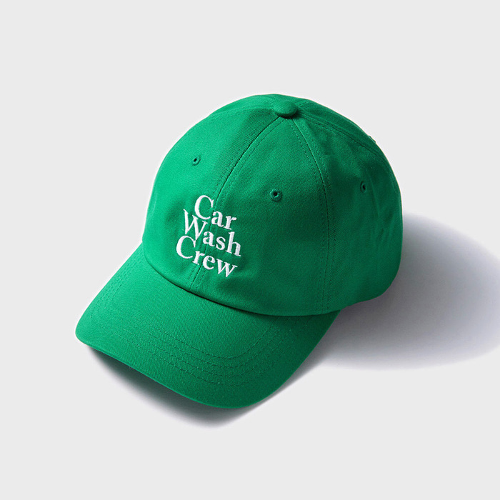 CAR WASH CREW BALL CAP GREEN