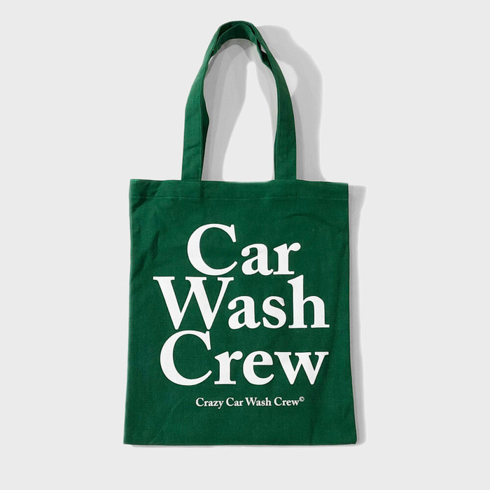 CAR WASH CREW TOTE GREEN